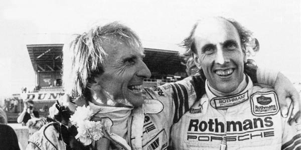 WEC Derek Bell à l'honneur à Silverstone