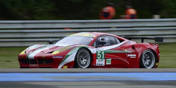 WEC: Kobayashi avec AF Corse en 2013 ?