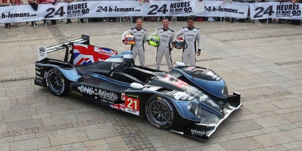 WEC: le Strakka Racing jette l'éponge