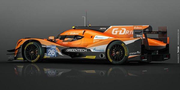 WEC : G-Drive avec Jota Sport en LMP2