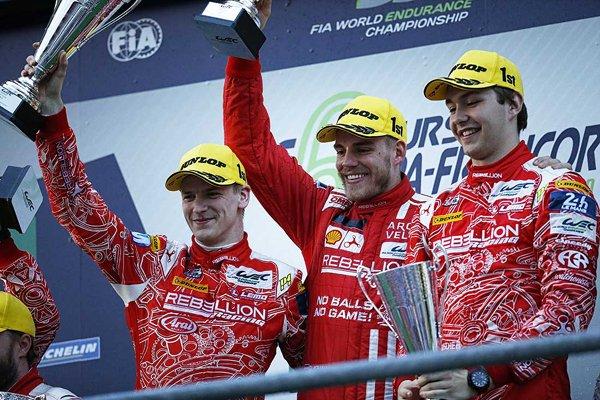 WEC : nouveau podium pour Rebellion Racing