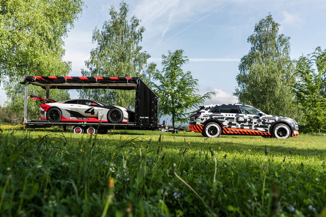 Show électrique pour Audi au Wörthersee 2018