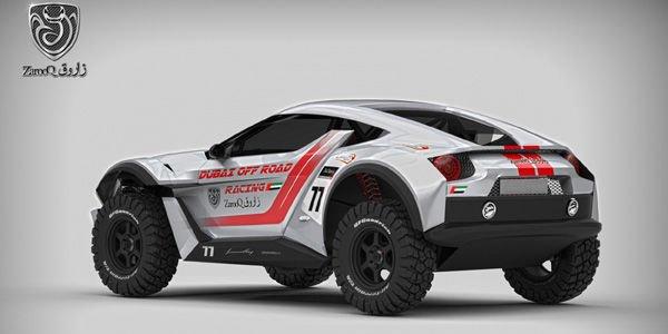 Le Zarooq Sand Racer présenté à Abu Dhabi