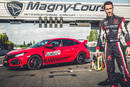 Esteban Guerrieri et la Honda Civic Type R à Nevers Magny-Cours