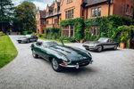 Réunion historique pour trois Jaguar Type E