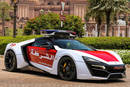 Lykan HyperSport - Crédit photo : Police d'Abu Dhabi