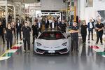 Lamborghini : 10 000 Aventador assemblées