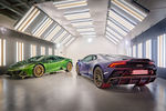 Quatre Lamborghini Huracan spéciales à destination de Mexico