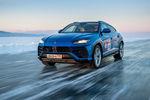 Record de vitesse sur glace pour le Lamborghini Urus