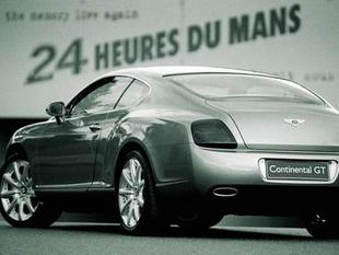 500 Bentley Continental GT vendues en Allemagne.