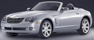 La Chrysler Crossfire roadster