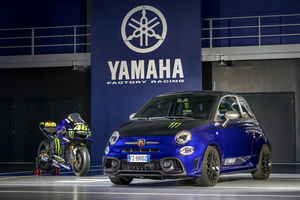 Éditions spéciales Abarth 595 Scorpioneoro et Monster Energy Yamaha