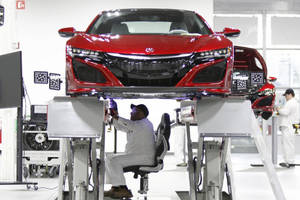 Acura NSX : lancement de la production en avril