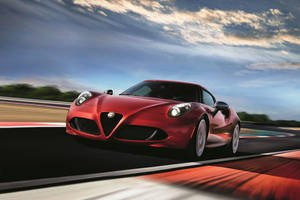 Nouvelle Alfa Romeo 4C Limited Edition