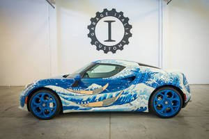 Alfa Romeo 4C The Great Wave
