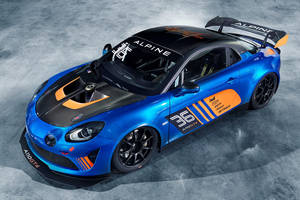 L'Alpine A110 se dote d'une version GT4