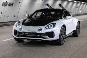 Alpine A110 SportsX, oxymore roulant