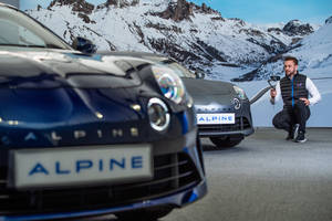 Alpine présente son showroom virtuel