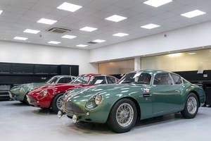 Les premières DB4 GT Zagato Continuation quittent Newport Pagnell