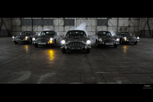 Aston Martin DB5 Goldfinger Continuation : puissance 5