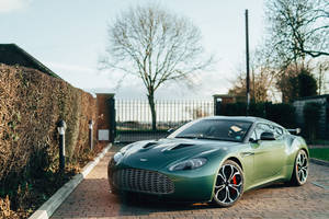 A vendre : one-off Aston Martin V12 Zagato
