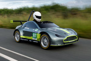 Aston Martin V8 Vantage Soap Box