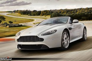 Aston V8 Vantage S, plus d'images
