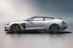 Aston Martin Vanquish Zagato Shooting Brake : l'habitacle en images
