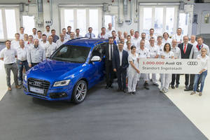 Un million d'Audi Q5 à Ingolstadt
