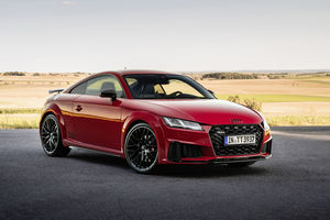 Audi TT et TTS : nouvelle finition competition plus et pack bronze selection