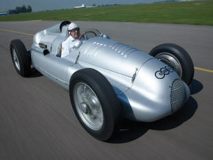 Une Auto Union à Goodwood