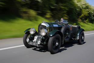 Une Bentley Blower aux Mille Miglia