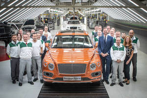 Bentayga Hybrid : production lancée