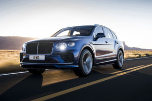 Nouveau Bentley Bentayga Speed