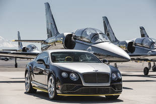 Bentley livre ses Continental GT Speed Breitling Jet Team
