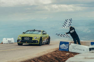 Bentley brille encore à Pikes Peak
