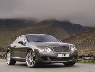 Bentley muscle la Continental GT