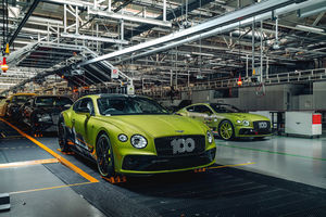 Lancement en production de la Bentley Continental GT Pikes Peak