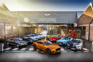 Bentley : plus de 80 000 Continental GT produites