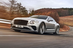 650 ch pour la nouvelle Bentley Continental GT Speed
