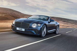 Nouvelle Bentley Continental GT Speed Cabriolet