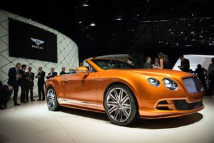 Genève : Bentley continental GT speed