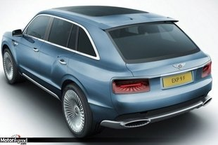 EXP-9F : Bentley confirme le design