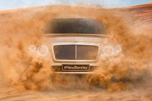 Bentley annonce son SUV sur Twitter