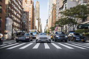 Bentley fête ses 100 ans à New York