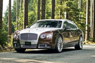 Genève : Bentley Flying Spur par Mansory