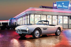La BMW 507 du King restaurée