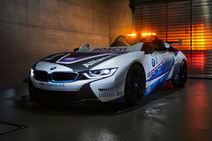 Nouvelle BMW i8 Roadster Safety-car