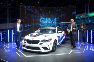 La BMW M2 CS Racing au BMW Welt