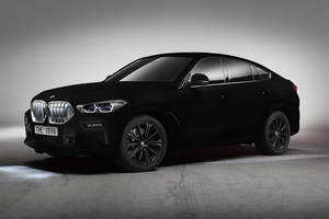 One-off BMW X6 Vantablack
